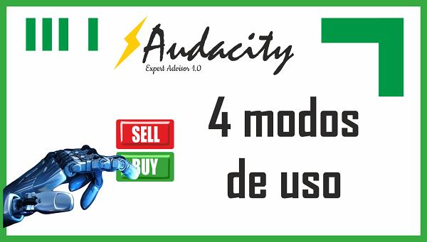 audacity modos de uso